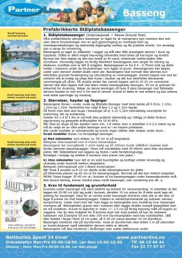 Basseng - Partnerline AS