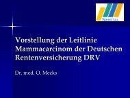 Vortrag für Patientinnen mit Brustkrebs - reha-kompetenz.de