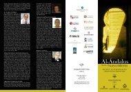 Ciclo de conferencias Al-Andalus desde el nuevo milenio
