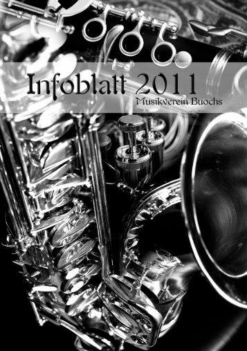 Infoblatt 2011 - Musikverein Buochs