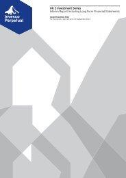 Invesco Perpetual UK 2 Inv Series Interim Report (Long Form)