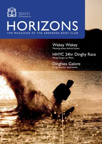 Nov 2011 Issue - the Aberdeen Boat Club
