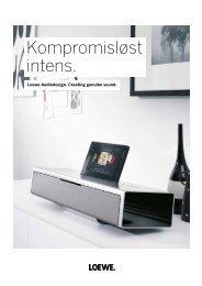 Loewe Audiodesign.