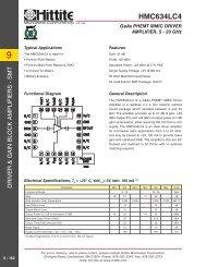 HMC634LC4 - Hittite Microwave