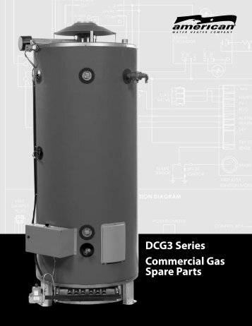 DCG3 Series Commercial Gas Spare Parts - American Water Heaters