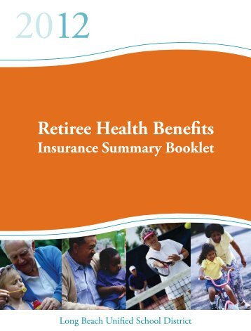 2012 Retirees Guide - Long Beach Unified School District