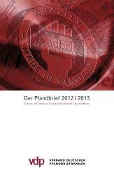 vdp-Mitgliedsinstitute - Verband deutscher Pfandbriefbanken
