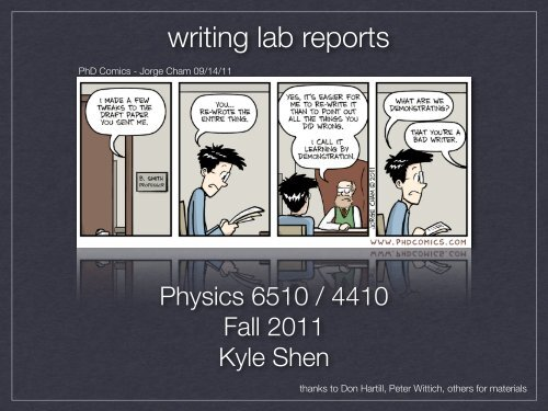 writing lab reports - Are you sure you want to look at this?