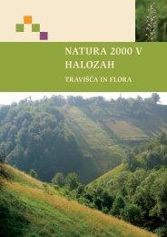 NATURA 2000 V HALOZAH - Center za kartografijo favne in flore