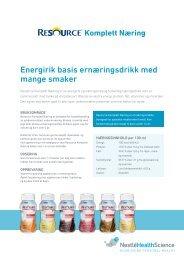 Resource Komplett Næring - nestle nutrition