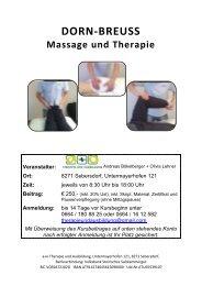 DORN-BREUSS Massage und Therapie