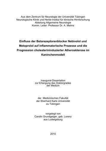 Dissertation Carolin Grundgeiger - TOBIAS-lib - Universität Tübingen