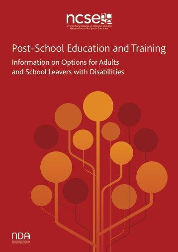 NCSE-Post-School-Education--Training
