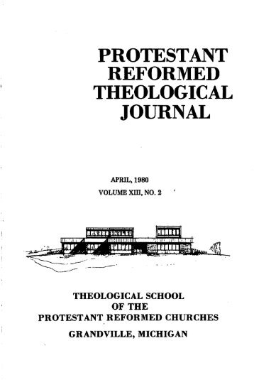 April 1980 (pdf) - Protestant Reformed Churches in America