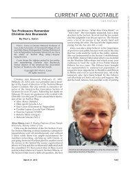 Tax Professors Remember Christine Ann Brunswick - TaxProf Blog