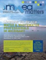 Looking to reach WATER & WASTEWATER PROFESSIONALS IN ...