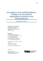 Richtlijn Downsyndroom - Logopedie.nl