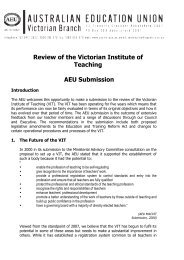 Victorian Institute of Teaching review