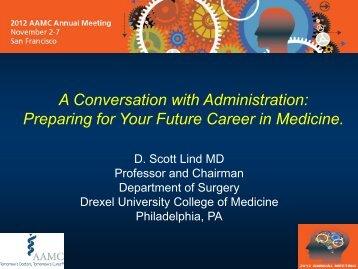 Preparing for Your Future Career in Medicine.