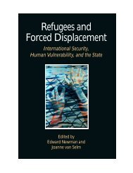 Refugees and forced displacement - United Nations University