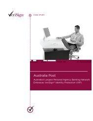 Australia Post : Case Study : High Res Version H - VeriSign