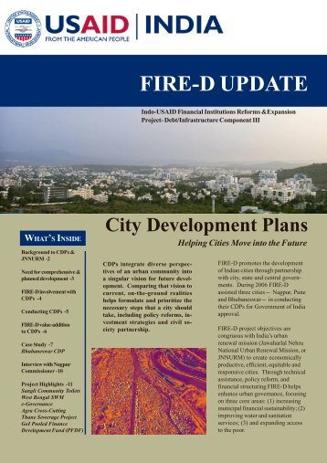 City Development Plans - TCG International, LLC