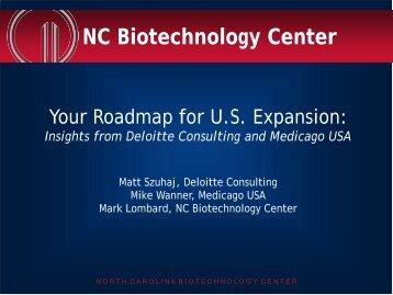 NC Biotechnology Center - Business Review Webinars