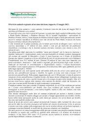 Il Servizio sanitario regionale ad un anno dal sisma_15 ... - Saluter