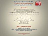 Performance Management Toolkit Interim Performance Evaluations ...