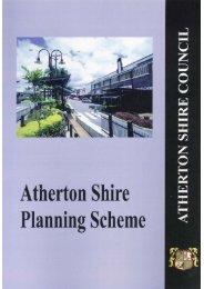 Atherton Shire Planning Scheme - Tablelands Regional Council