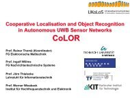 Cooperative Localisation and Object Recognition in Autonomous ...