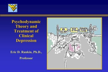 Psychodynamic Theory and Treatment of Depression