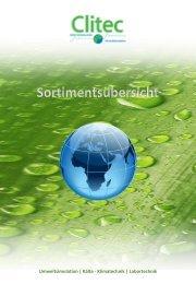 Umweltsimulation   Kälte - Klimatechnik   Labortechnik - Clitec GmbH