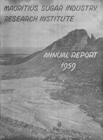 Annual Report 1959 - BEEP