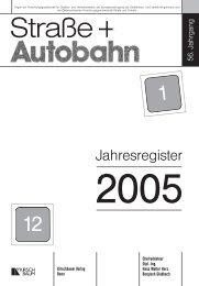 Jahresregister STA 2005