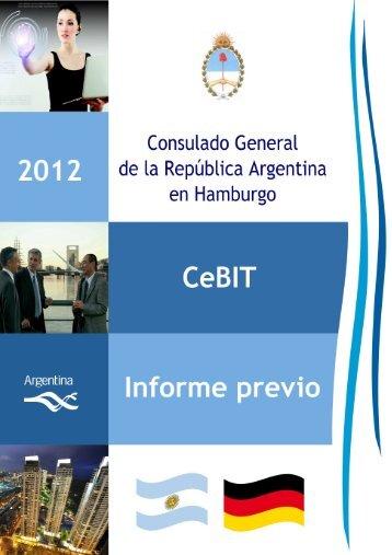 Informe previo CeBIT 2012 - Consulado General de la República ...