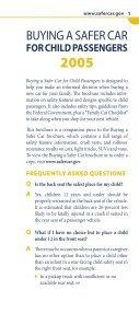 BUYING A SAFER CAR - SaferCar.gov - Page 4
