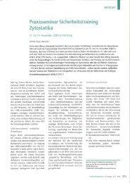 Bericht einer Teilnehmerin - BERNER International GmbH