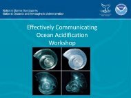 Effectively Communicating Ocean Acidification - Gulf of the ...