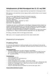 Referat - Dansk Center for Integreret Design