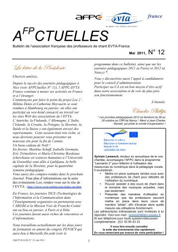 A fp CTUELLES N° 12 - Index of