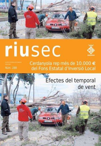 Riu Sec març 2009 - Ajuntament de Cerdanyola del Vallès