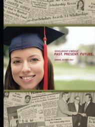 Past. Present. Future. - Scholarship America