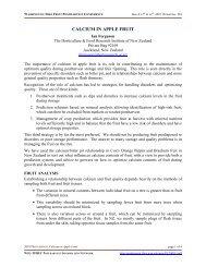 Calcium in Apple Fruit (2001) - Postharvest Information Network