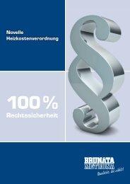 Novelle Heizkostenverordnung (98056) - BRUNATA Hürth