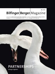 the future - Bilfinger Berger Magazin