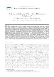 Analyzing and Enhancing OSKI for Sparse Matrix-Vector ... - prace