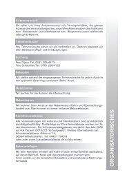 organisa t orisches - Regierungspräsidium Freiburg Fachstelle für ...