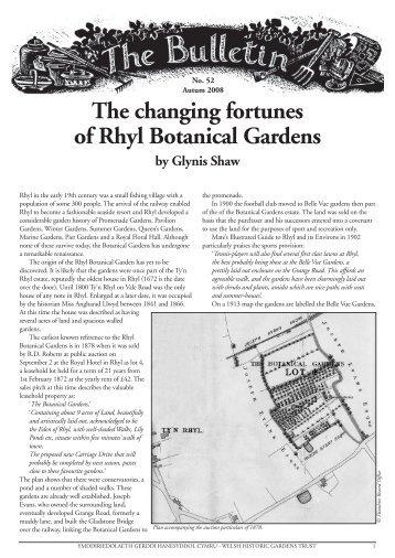 Bulletin 52 - the Welsh Historic Gardens Trust (WHGT)