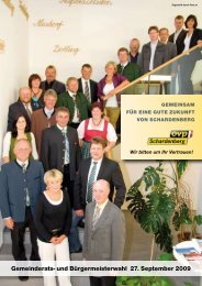 Gemeinderats- und Bürgermeisterwahl 27. September 2009 - ÖVP ...